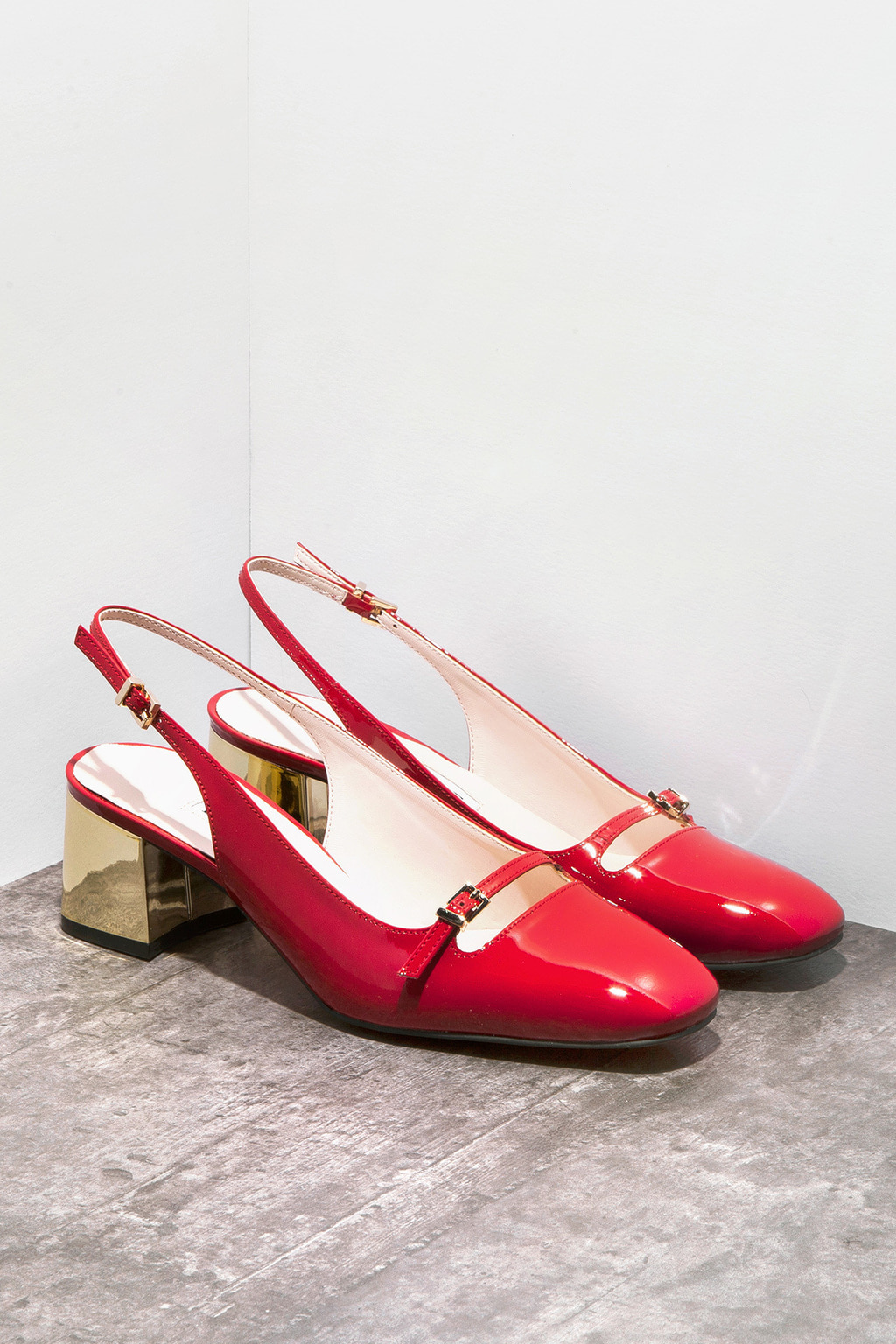 DORATORE Como Red-Gold - Women's Shoes : Republic of Korea